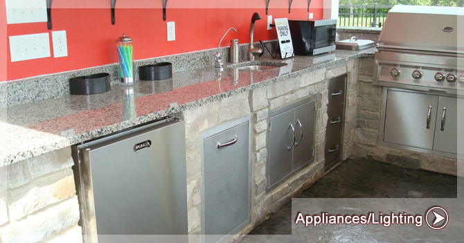 appliances Kirk Wylie Masonry Swanton, Ohio