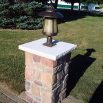 appliances accent lighting stonework