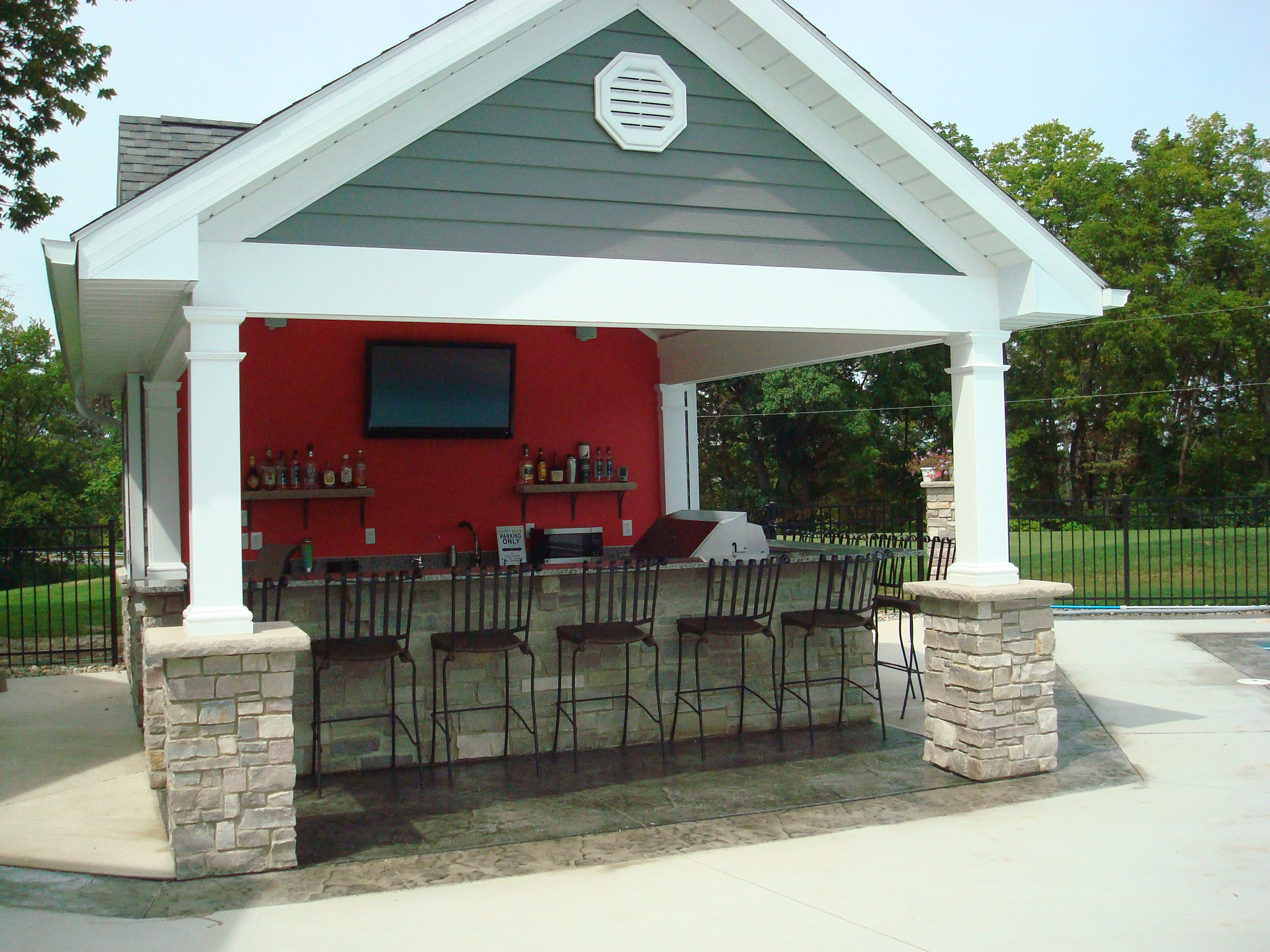 Pool house bar 28 images modern pool house bar with Pool house plans with bar